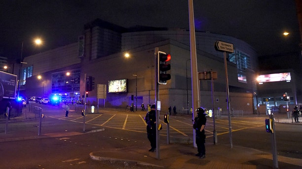 """Authorities believe Abedi played a major role in planning the suicide bombing at the arena (pictured that night), the deadliest in a string of attacks in London and Manchester in 2017.<br data-cke-eol=""""1"""">"""