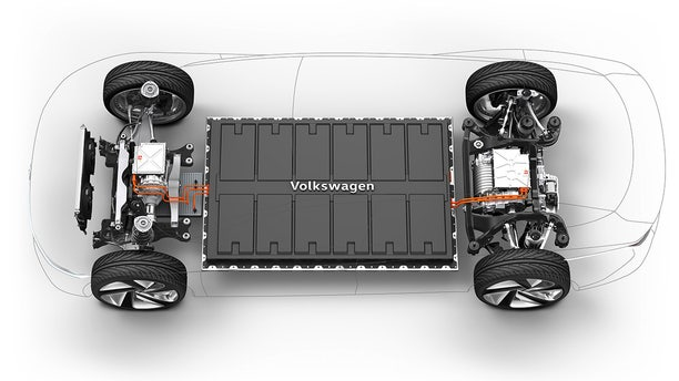 Volkswagen's MEB platform can be used for a variety of vehicle types.