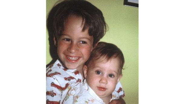 Ron Goldman with his baby sister Kim Goldman. — Courtesy of Kim Goldman