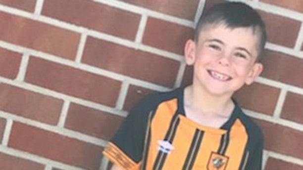Stanely Metcalf, 6, died in England nearly a year ago after being shot by his great-grandfather Albert Grannon, 78. Grannon was sentenced Tuesday to three years in prison for manslaughter.