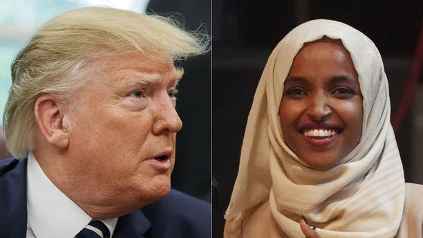 President Trump hasn't let up on criticism of Somali-born U.S. Rep. Ilhan Omar, D-Minn. (Getty Images)