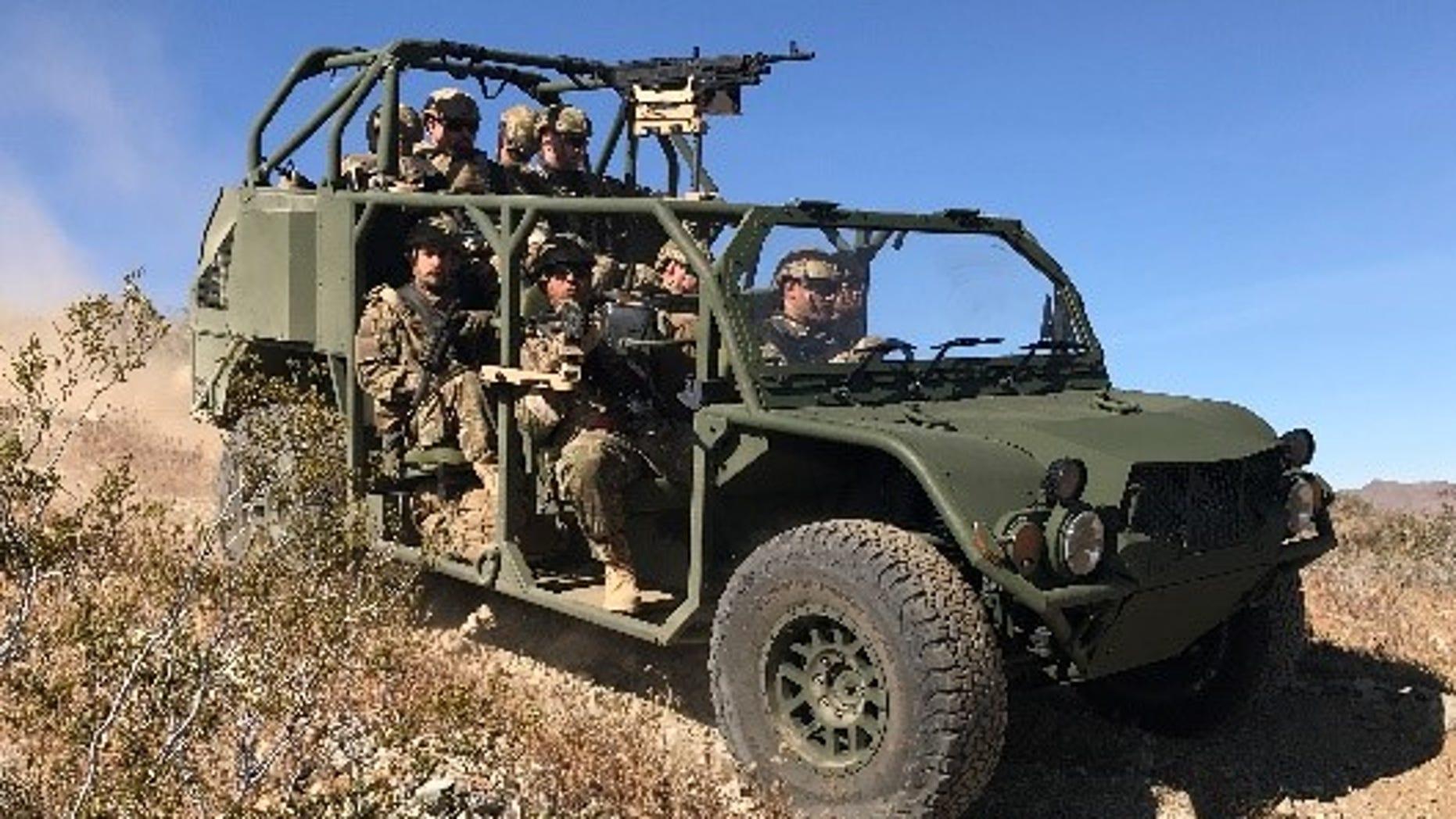 Infantry Squad Vehicle (ISV)