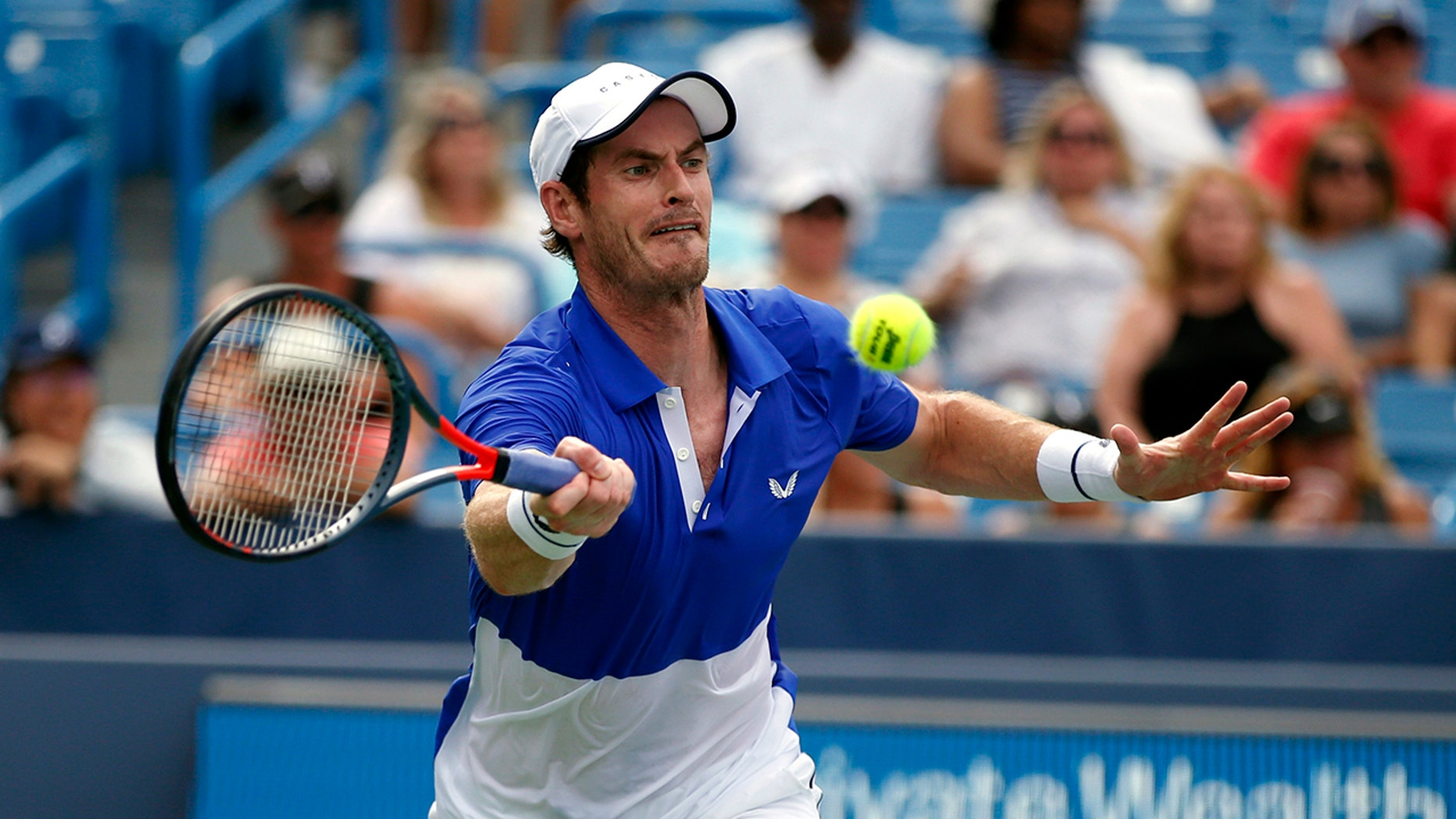 Westlake Legal Group TEN-Andy-Murray4 Murray loses in first round at Cincinnati in singles return fox-news/sports/tennis fnc/sports fnc Associated Press article 8c97d33d-9b6e-527d-8fbe-f58f080fce7b