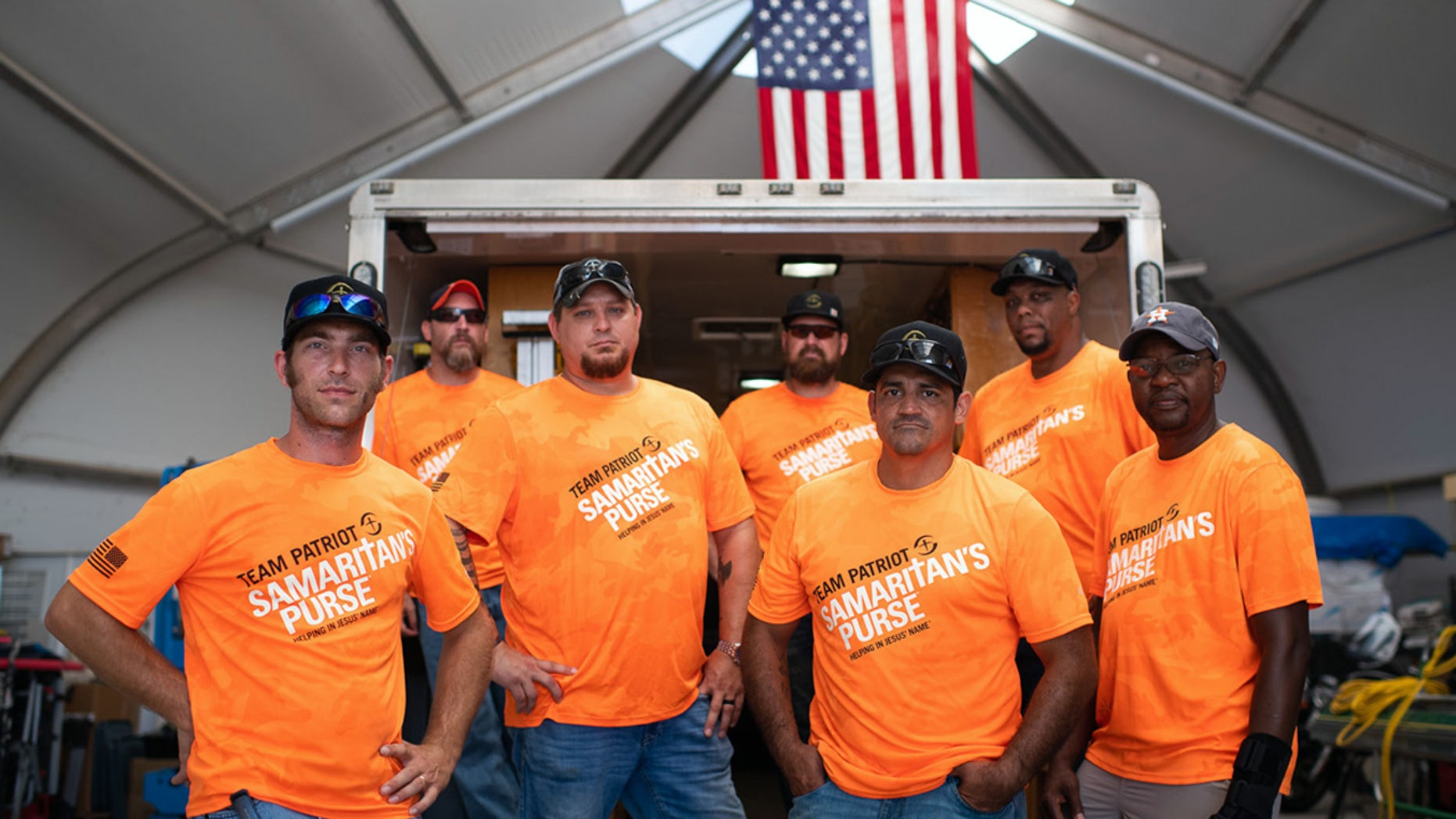 Team Patriot, a new initiative from Samaritan's Purse, offers wounded veterans a way to give back through U.S. Disaster Relief.