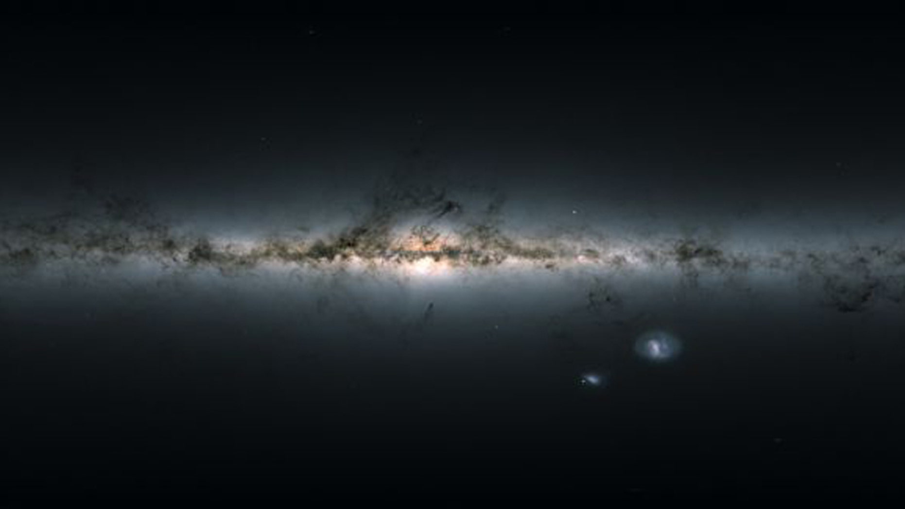 The Gaia mission recently created a celestial survey of 1 billion stars in the Milky Way. They're spotting gorgeous celestial features like mountain ranges, arches and streams of stars. (Credit: ESA/Gaia/DPAC, CC BY-SA 3.0 IGO)