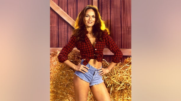 "Catherine Bach famously played Daisy Duke in ""The Dukes of Hazzard."""