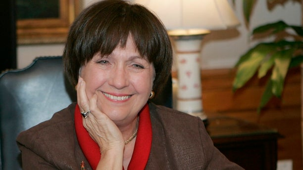 Former Louisiana Gov. Kathleen Babineaux Blanco, seen here in 2007, died Sunday at 76. (AP Photo/Bill Haber, File)