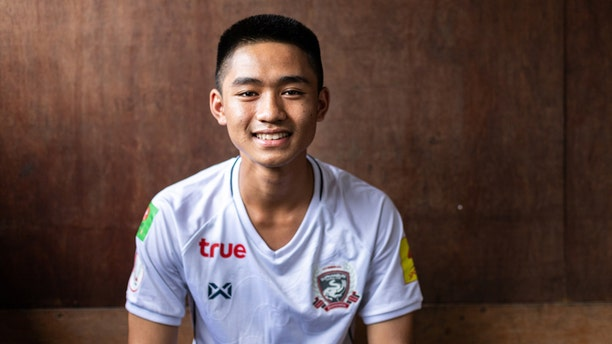 """15-year-old Adul """"Adun"""" Samon emerged a hero after being trapped in a cave for more than two weeks alongside his soccer friends."""