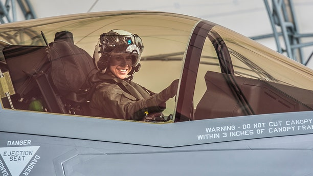 Satz graduated the F-35B Lighting II Pilot Training Program June and will be assigned to Marine Fighter Attack Squadron 121 in Iwakuni, Japan. (U.S. Marine Corps photo by Sgt. Ashley Phillips)
