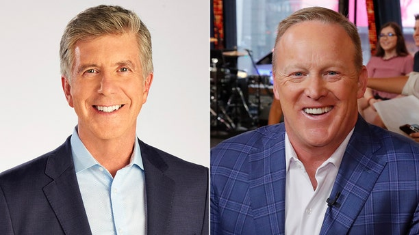 "Tom Bergeron, host of ""Dancing with the Stars,"" hinted that he wasn't comfortable with Sean Spicer's casting on the upcoming season of the competition series."