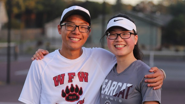 Joseph and Joelle Chung are siblings, avid tennis players, and active members of the Seventh-day Adventist Church in their hometown, Chehalis, Washington.