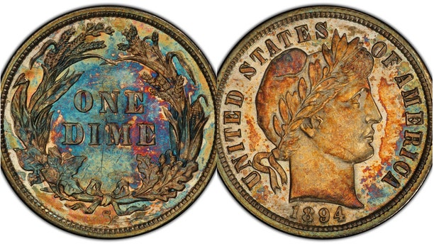 The 1894-S dime is one of only 24 that were minted.