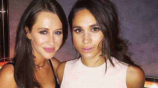 Fashion stylist Jessica Mulroney and Meghan Markle (Photo: Instagram)
