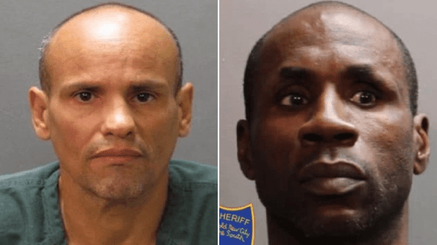 David Oseas Ramirez, left, was reportedly killed by, Paul Dixon, right, in their jail cell on Tuesday.