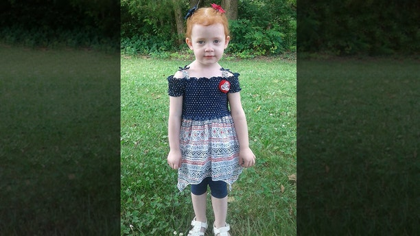 Vivian Fitzenrider,3, went missing in Missouri on Tuesday and was found dead the next day, authorities announced on Wednesday.