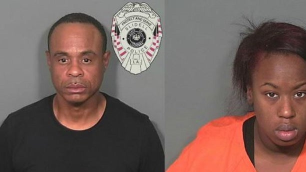 Angelica Stanley, 23, and Ellis Cousin, 51, were arrested Tuesday during an investigation into a kindergartener who brought cocaine to school Tuesday, police said.