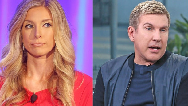 "Lindsie Chrisley is pictured alongside estranged father Todd Chrisley. Lindsie accused the ""Chrisley Knows Best"" star and his son (her brother) Chase Chrisley of attempting to extort her over a sex video allegedly filmed with a star of ABC's ""The Bachelorette."""