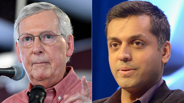 CNN contributor Wajahat Ali said he has faith in America at the expense of Sen. Majority Leader Mitch McConnell.