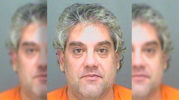 Mug shot for Panagiotis Karamanlis, accused in a beating in Florida.
