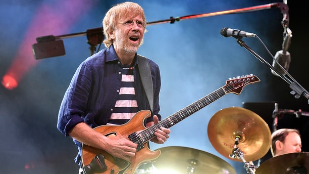 Trey Anastasio of Phish performs during the 2019 Bonnaroo Music & Arts Festival on June 16, 2019 in Manchester, Tennessee. Camping outside of a Denver series of Phish concerts has been banned due to plague-stricken prairie dogs in the area.