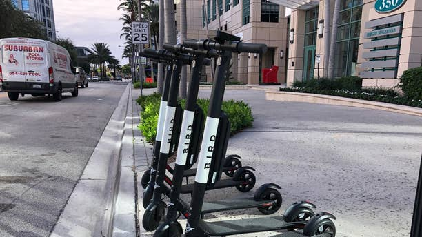 Dockless scooters are so named for their ride-sharing service and their lack of a fixed home location.