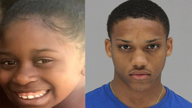 Tyrese Simmons, 19, turned himself in on Thursday and is facing capital murder charges in the shooting death of 9-year-old Brandoniya Bennett in Dallas.