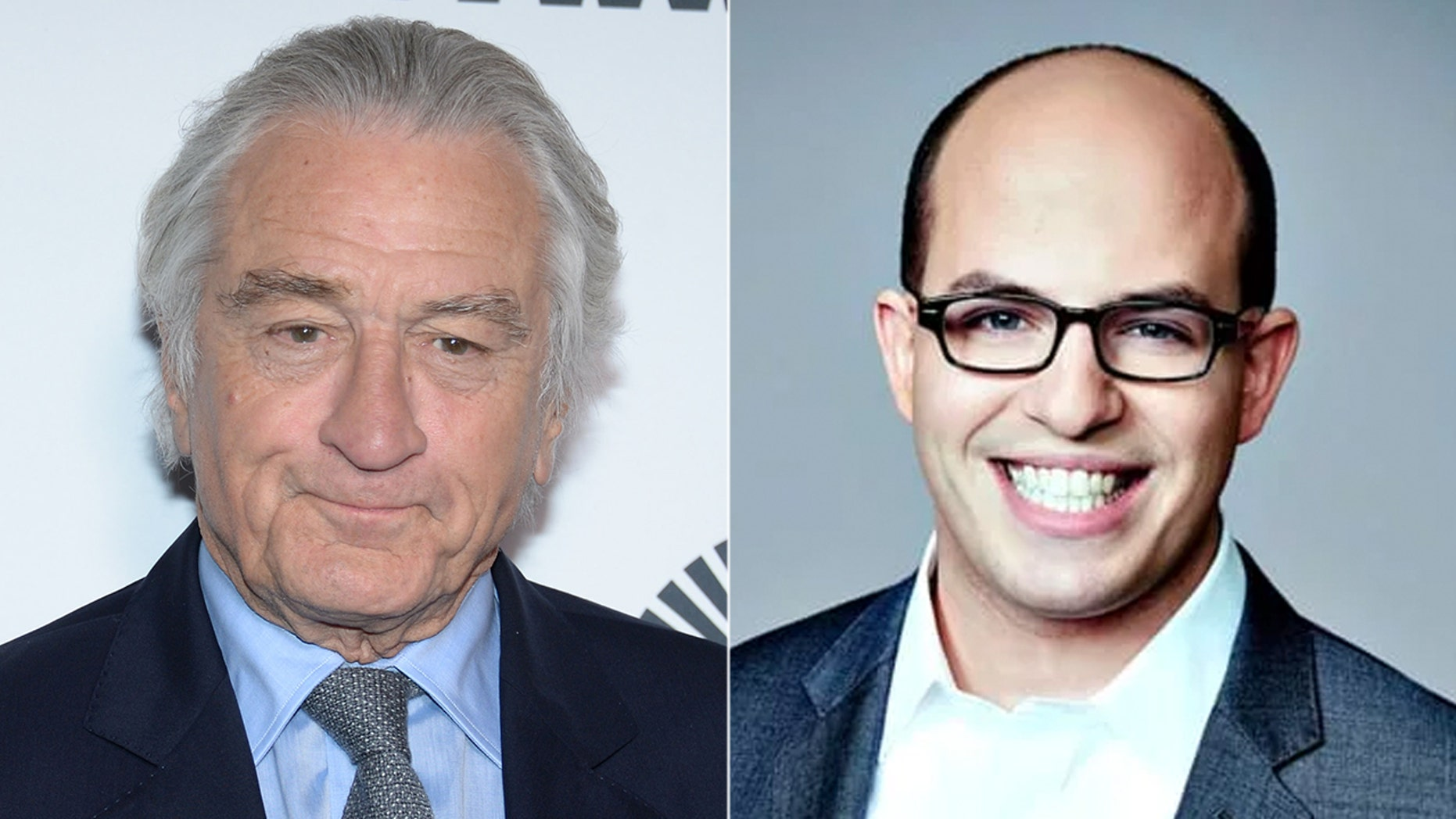 Robert De Niro used profanity during an interview with CNN's Brian Stelter.