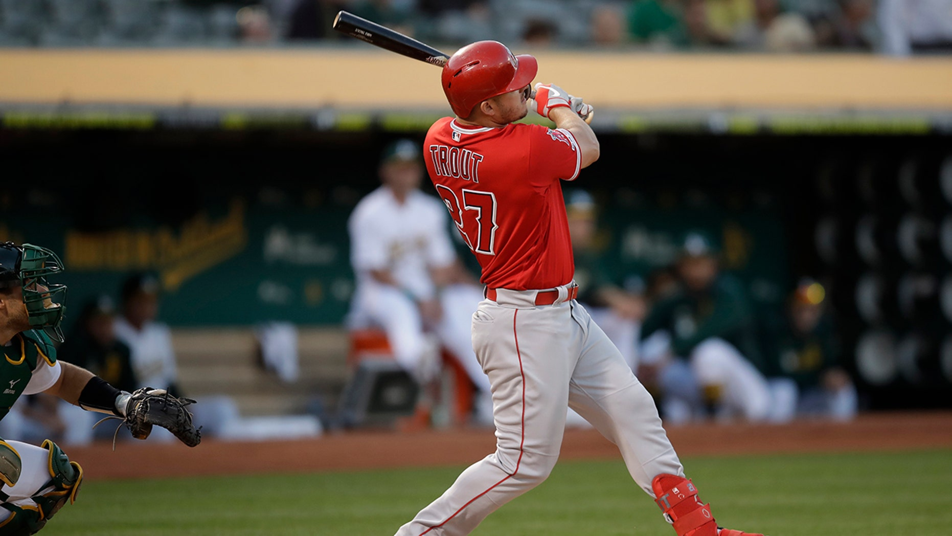 Westlake Legal Group MLB-Mike-Trout7 Angels' Mike Trout to have season-ending foot surgery fnc/sports fnc Associated Press article 4e078db3-bd4e-5f8d-9f00-bb230fdbe94d