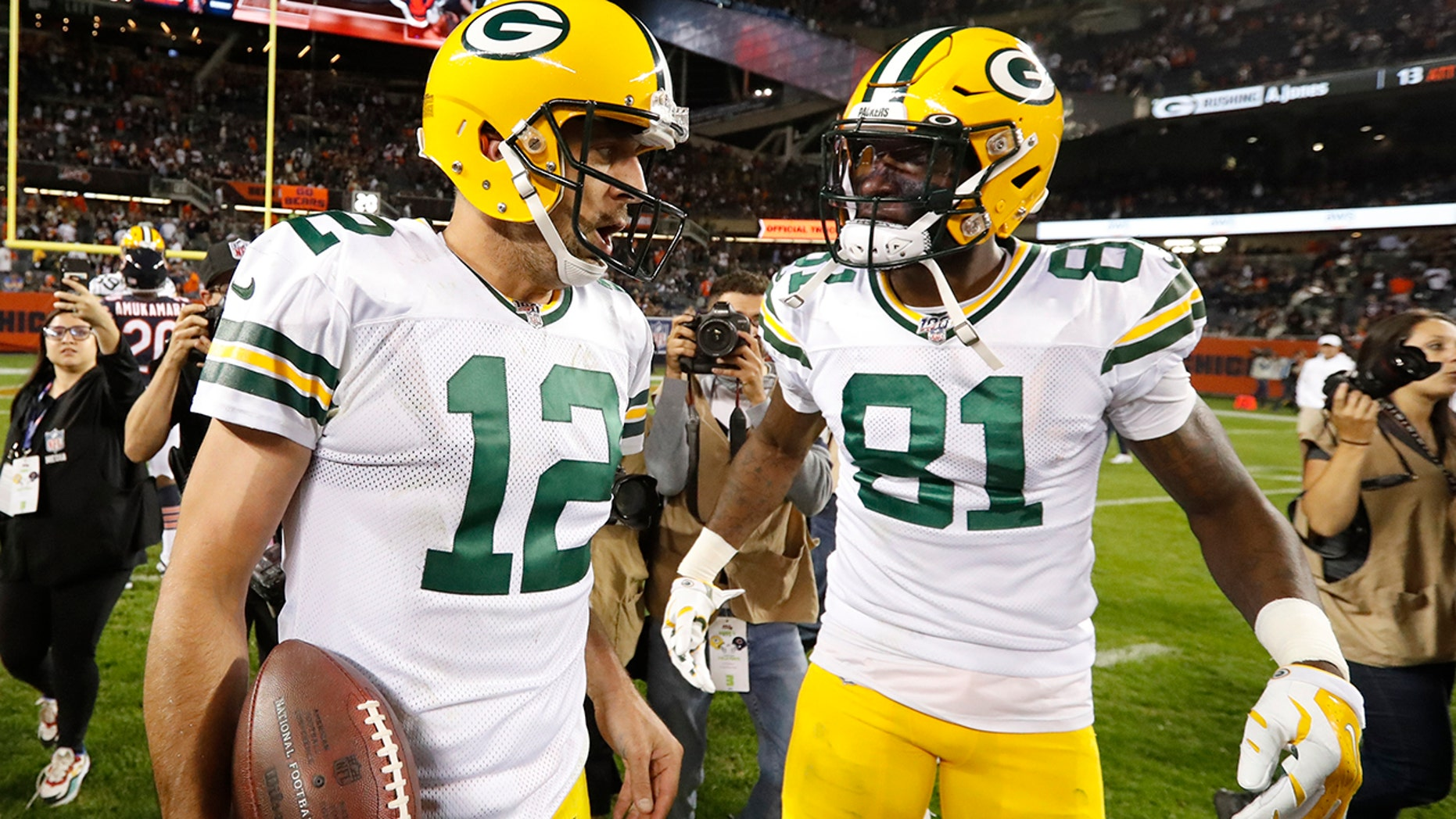 Big-time D, a bit of A-Rod enough for Packers vs  Bears