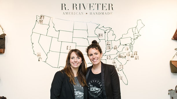The company founded by Lisa Bradley, left, and Cameron Cruse has provided work opportunities for U.S. military spouses.
