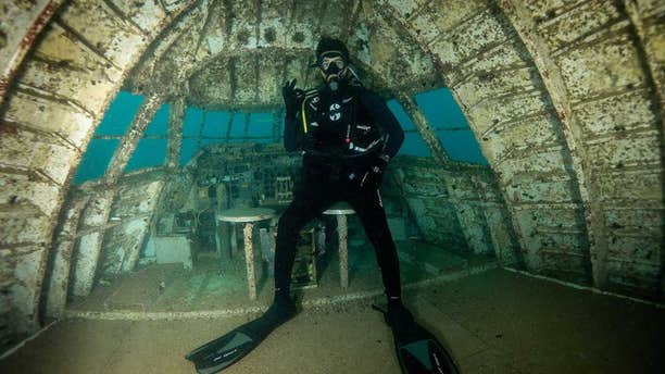 """Dive Bahrain, which bills itself as """"the world's largest underwater theme park,"""" has officially opened for visitors."""