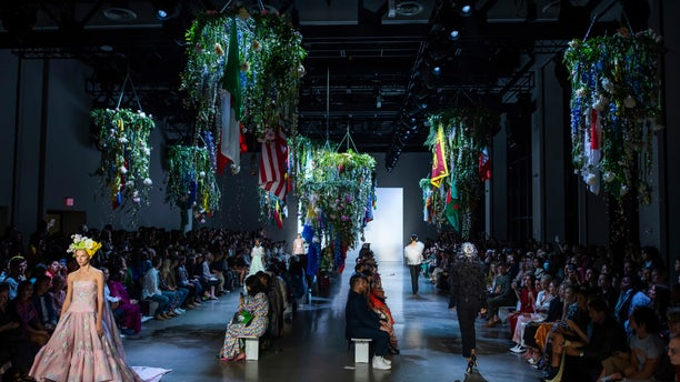 """The designer said that the show was """"deeply personal"""" on many levels."""