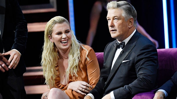 Ireland Baldwin and Alec Baldwin attend the Comedy Central Roast of Alec Baldwin at Saban Theatre on Sept. 7, 2019, in Beverly Hills, Calif.