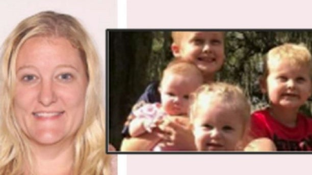 Casei Jones and her four children, pictured here, were missing for roughly six weeks before their family reported them missing on Saturday, officials said.(Marion County Sheriff's Office)