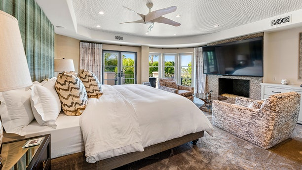 The actress spent $1 million on upgrades through the home, according to the listing.