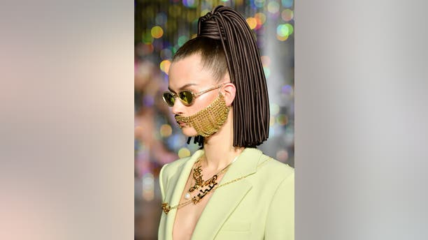For the Spring 2020 presentations, designers have opted for the kinds of toppers and takealongs that will leave some scratching their heads.