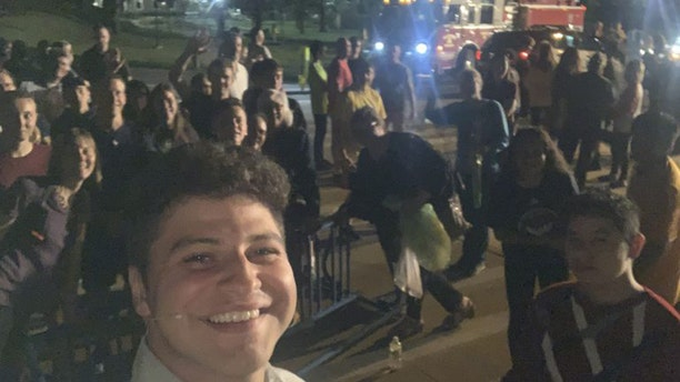 Noah Maldonado, the Minnesota regional coordinator for Students for Life of America, was speaking at a community college in Rochester when the bomb threat was made.