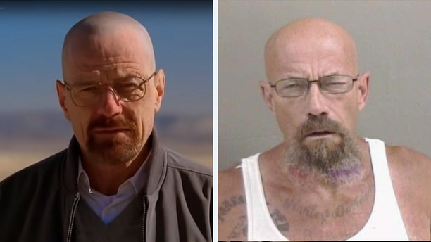 "Police in Illinois are looking for a man who has ""Breaking Bad"" fans doing a double take because the suspect looks like the television show's Walter White and coincidentally is wanted in relation to methamphetamine possession, according to a local report."