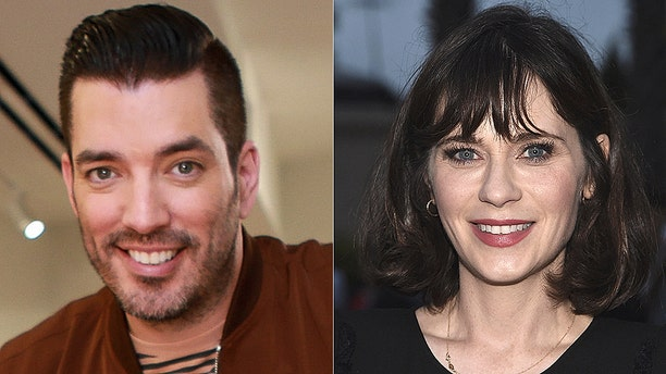 """""""Property Brothers"""" star Jonathan Scott is dating former """"New Girl"""" actress Zooey Deschanel. He described the romance as a """"pleasant surprise."""""""