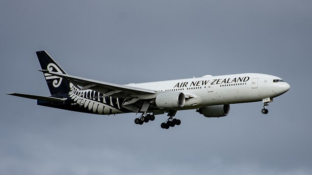 Flight NZ31 was less than 10 minutes away from landing at Auckland International Airport when an announcement came on in the cabin asking if there was a doctor onboard.