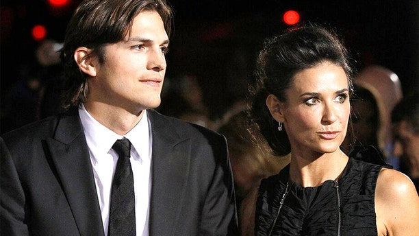 "Ashton Kutcher and Demi Moore at the premiere of ""No Strings Attached"" at the Regency Village Theatre in Los Angeles, Jan. 11, 2011. Moore alleged that Kutcher shamed her for her alcohol abuse during their marriage."