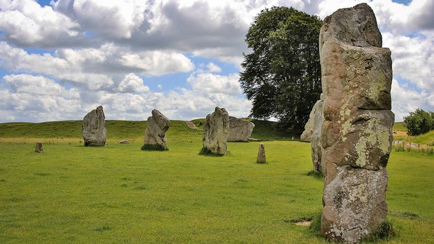 The medieval village of Avebury is ringed by the largest stone circle in the world and it's a popular place for those trying to figure out if it was constructed by aliens.