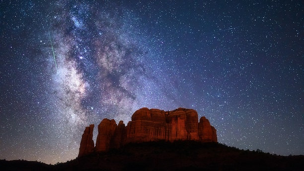The starry night skies of Sedona, Ariz. are popular for those looking for UFOs.