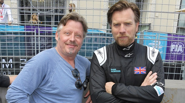 Boorman and McGregor attended the electric Formula E racing series event in Rome this year.