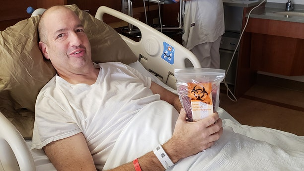 Mike Balla received a bone marrow transplant at Cleveland Clinic to treat adult acute myeloid leumemia.