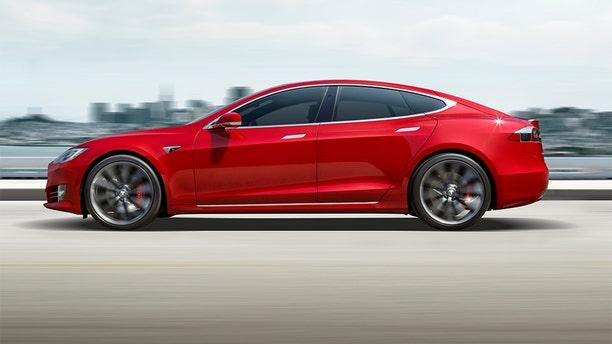 The Model S P100D is Tesla's highest performance car.