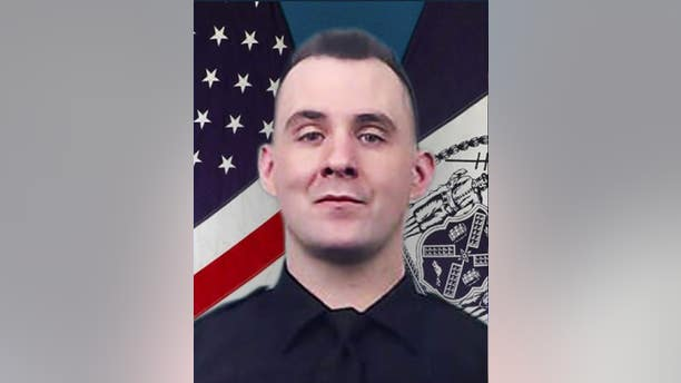 New York Police Officer Brian Mulkeen died from friendly fire Sunday during a struggle with an armed suspect, police officials said.