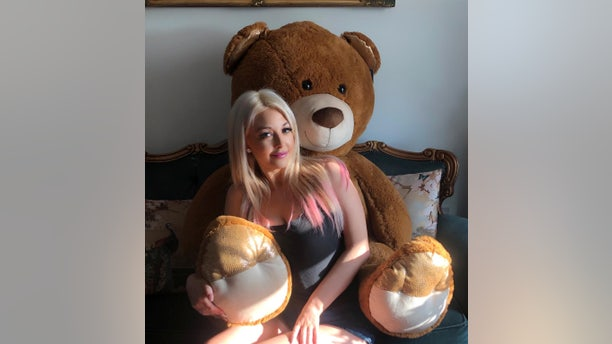 """""""After the Chihuahua died, I tried to fully cut things off with him, but he wouldn't take no for an answer,"""" she claimed. """"One day, I came home and the concierge of the building called me to show that I'd been sent this massive teddy bear, the biggest you'veever seen."""""""