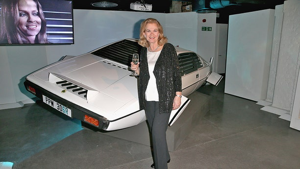 Valerie Leon at the Bond In Motion exhibition on March 18, 2014 in London.