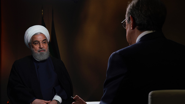 Rouhani said he was surprised by how Trump called Iran a key supporter of Mideast terrorism.
